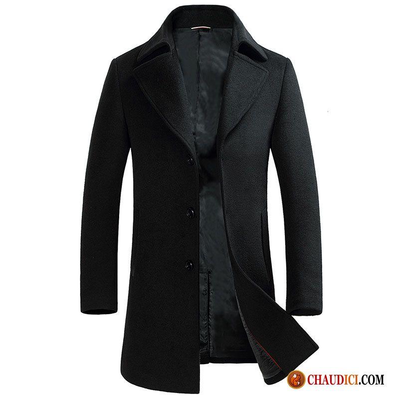 blouson cuir avec capuche homme manteau tissu de laine hiver la laine homme pas cher. Black Bedroom Furniture Sets. Home Design Ideas