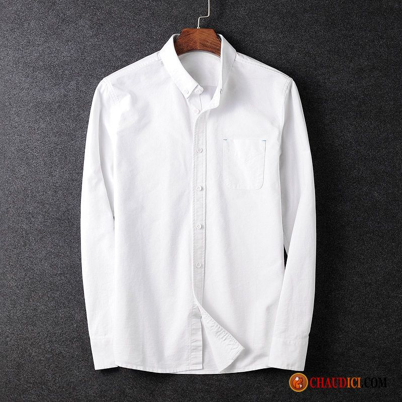 Col Jeunesse Chemise Mandarin Homme Chameau Blanc Grise Longues rCBoxeQdW