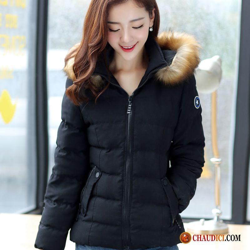 doudoune femme courte noire tendance manteau femme grande taille slim. Black Bedroom Furniture Sets. Home Design Ideas
