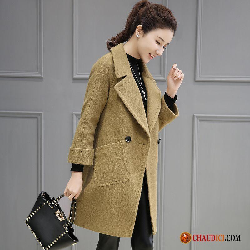 manteau chaud femme hiver slim la laine tissu de laine hiver femme pas cher. Black Bedroom Furniture Sets. Home Design Ideas