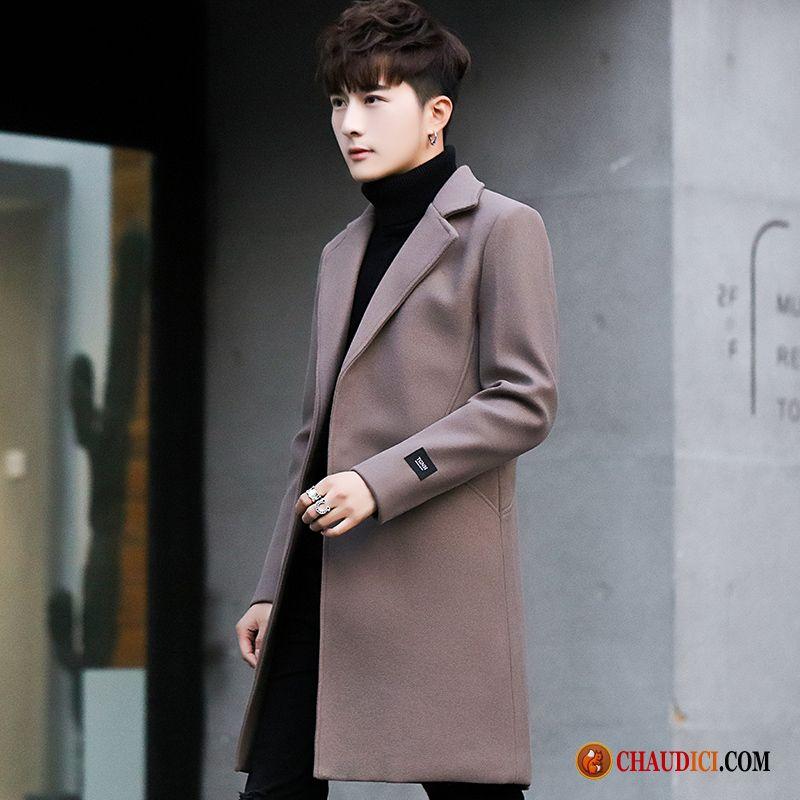 Manteau Classe Pour Homme Beau Homme Manteau L'automne
