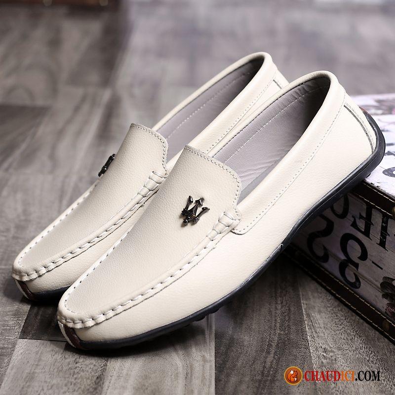Souple Homme Cuir Chaussures De Mocassin Flâneurs Conduite NXO8kn0wP