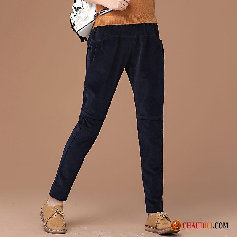 Baggy Harlan Cher Pas Décontractée Femme Couleur Pantalon 29DEWHYI