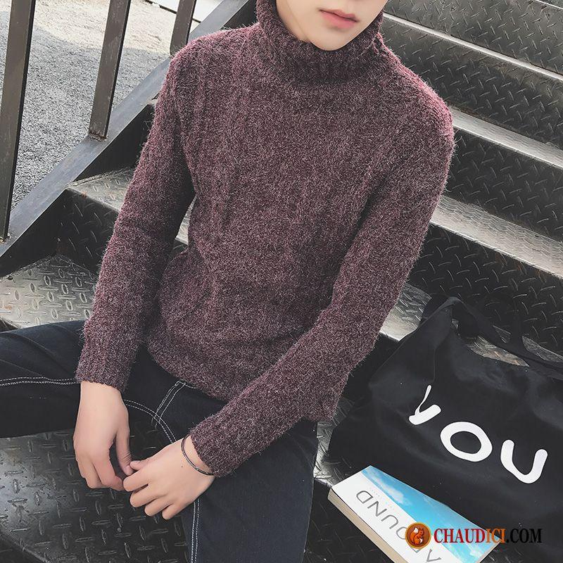 pull homme de marque pas cher tricots en maille slim pull. Black Bedroom Furniture Sets. Home Design Ideas