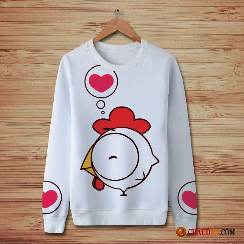 Sweat Pullovers Dessin Col Homme A Anime Capuche Cheminee Sous Fdpgsqg