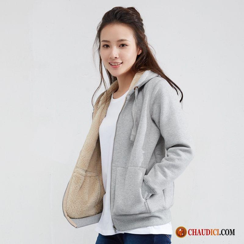 Veste femme coton bio