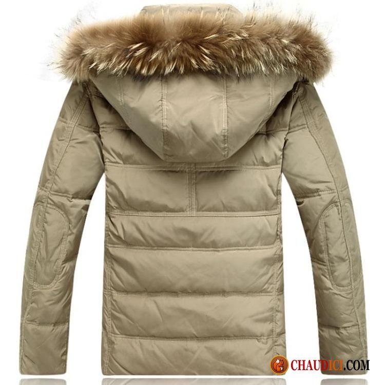 belle doudoune homme manteau chauds longue clearance