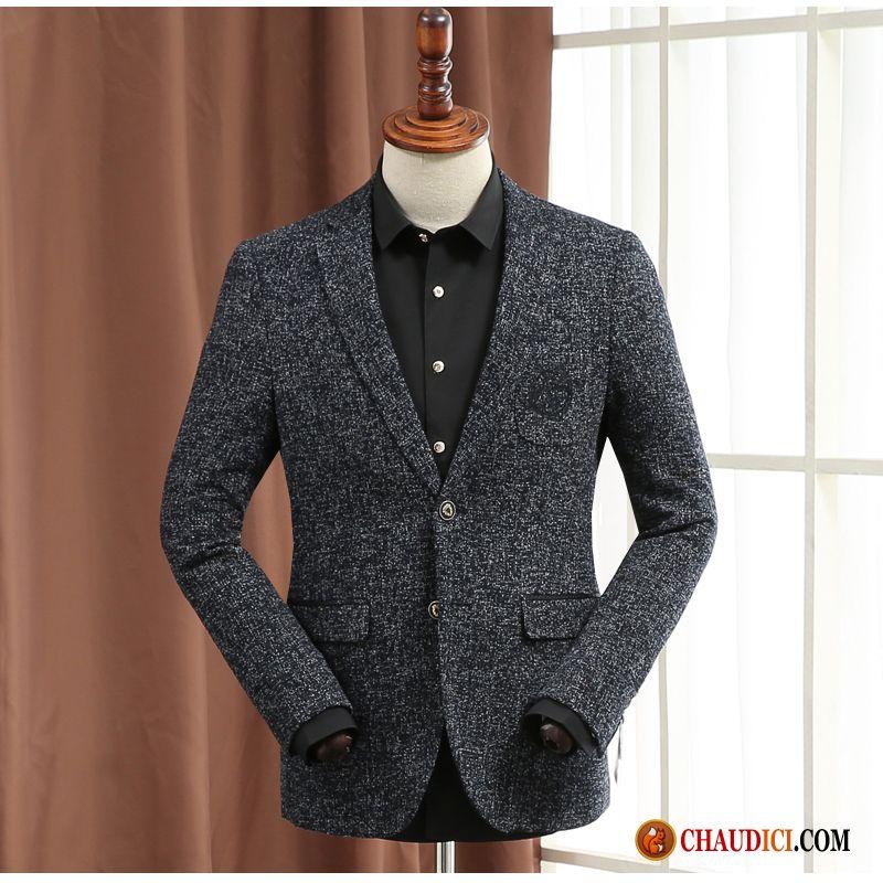 blazer homme sport chic une veste manteau de laine blazer slim. Black Bedroom Furniture Sets. Home Design Ideas