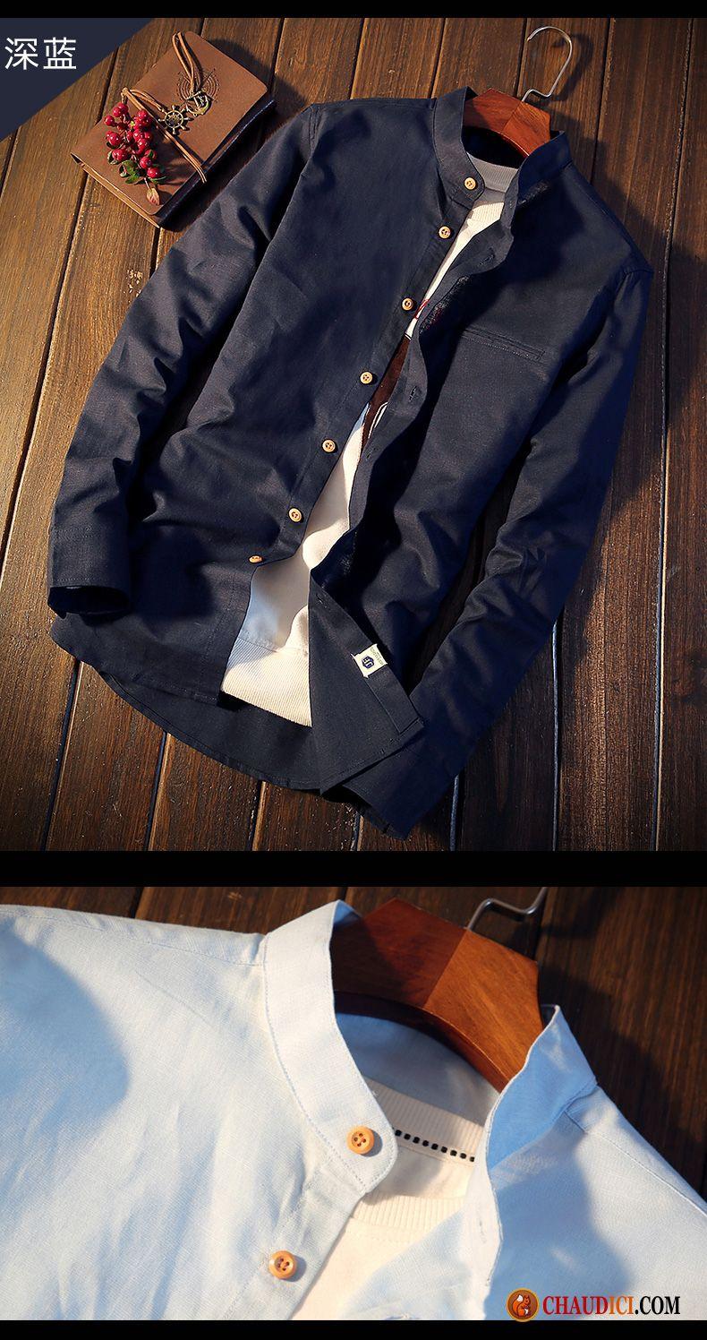 chemise d ete pour homme chemise beau longues slim tendance pas cher. Black Bedroom Furniture Sets. Home Design Ideas