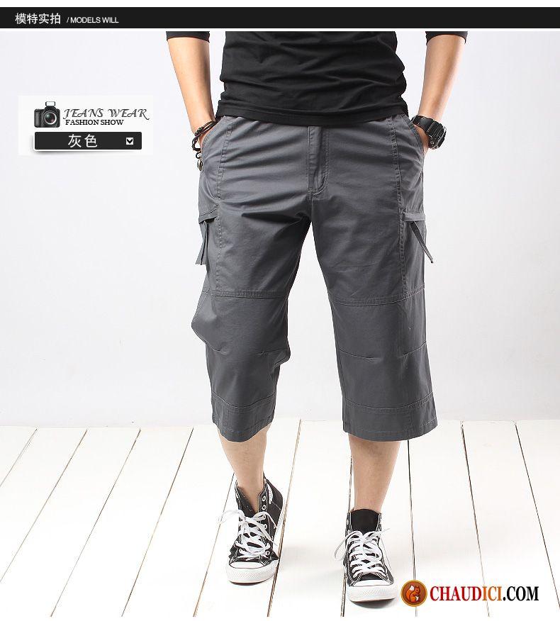 Pantalon Taille Elastique Pour Homme Grande Taille Homme Septième ... 409de42164cb