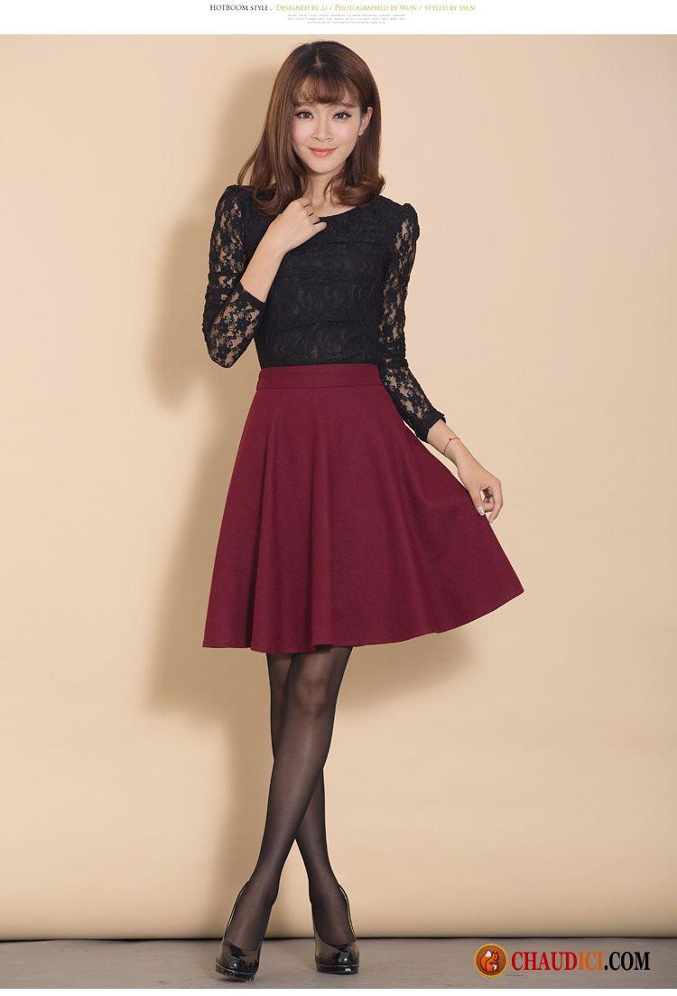 tailleur jupe longue hiver haute cintr e jupes courtes l 39 automne de laine