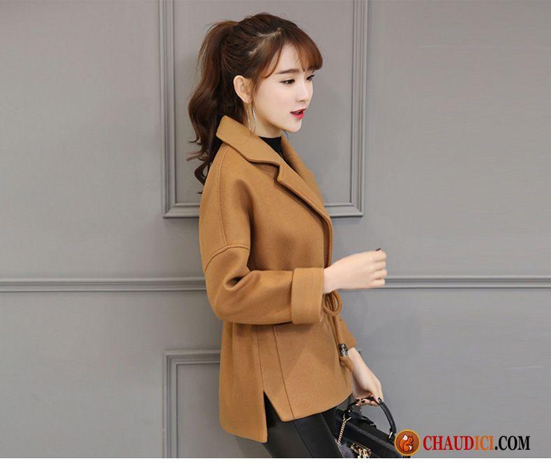 Veste manche cuir femme pas cher