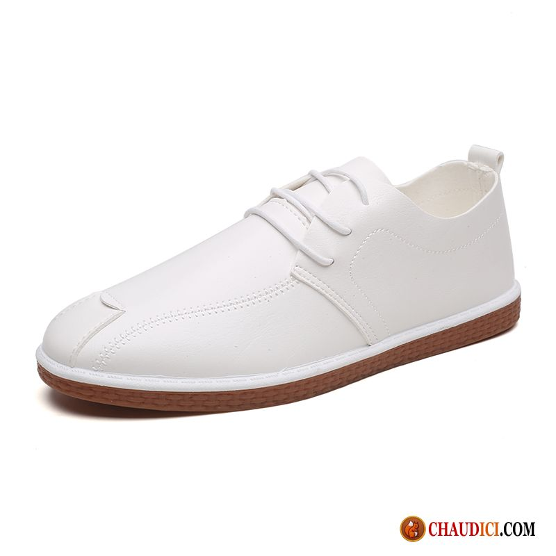Achat Mocassin Homme Derbies Blanc Angleterre Homme Respirant Soldes
