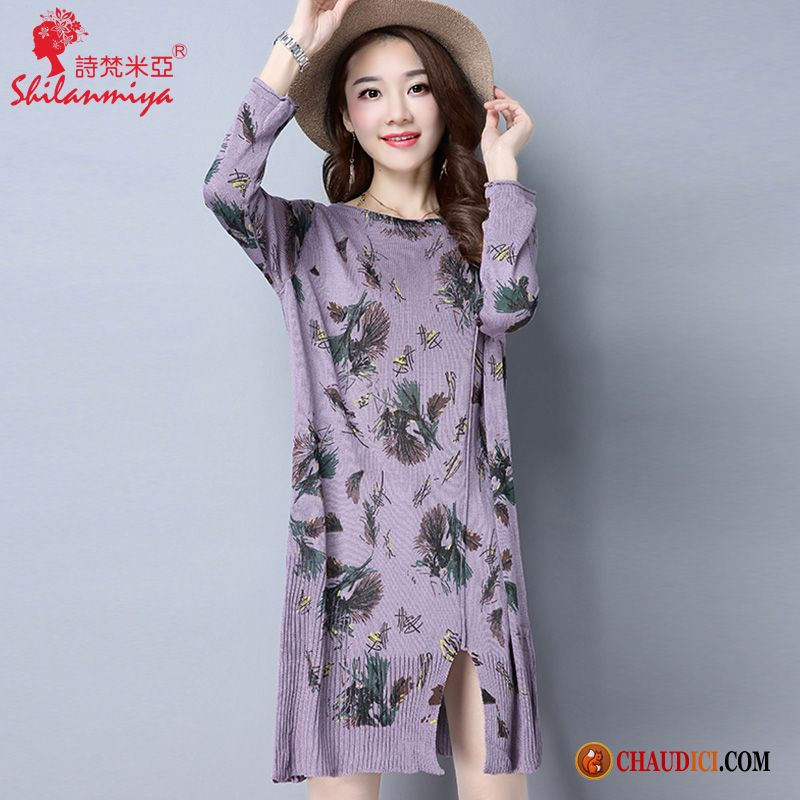 c139b93ac5e Achat Robe De Soirée Printemps Mince Longue T-shirt L automne Pas Cher