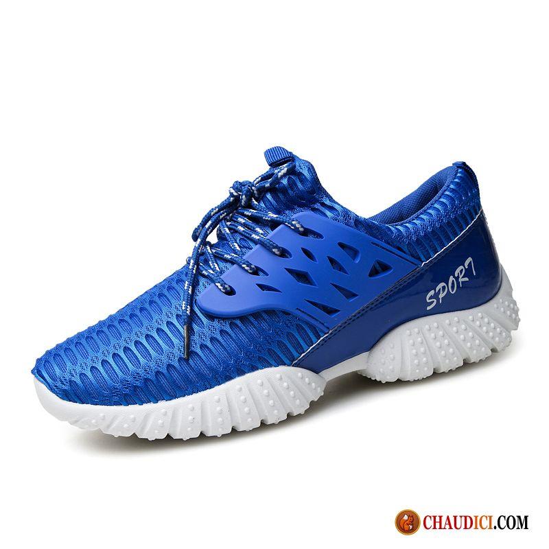 Acheter Chaussures Running Homme Décontractée Jeunesse Chaussures De Basket  Antidérapant Pas Cher 7abe7d5623ae