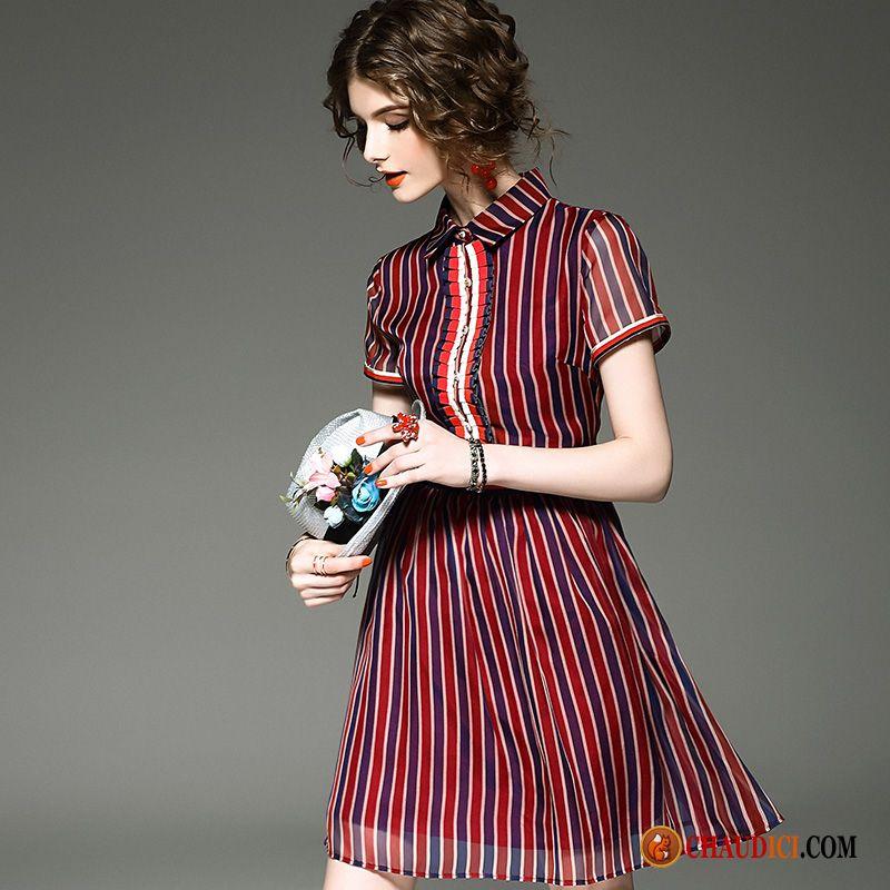 7f416ef0525 Acheter Une Robe Jaune Printemps Nervurées Robe Tempérament Slim En Ligne