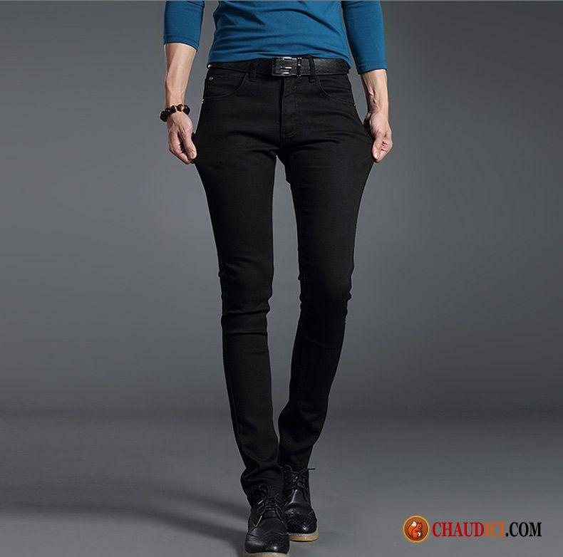 designer fashion best selling super popular Beau Jean Homme Pas Cher Or Noir Extensible Denim Slim ...