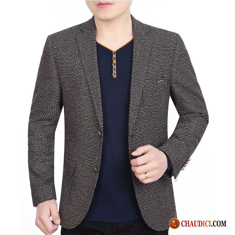 Blazer Homme Grande Taille Steelblue Britanique Costume Printemps Manteau Homme  Pas Cher 1d921767c77