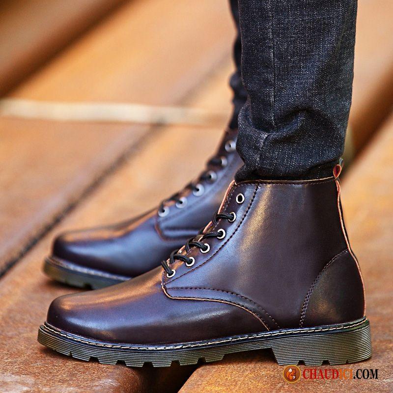 grande vente de liquidation célèbre marque de designer top design Bottes Homme Pour L Hiver Jaune Hiver Homme Bottes Martin En ...