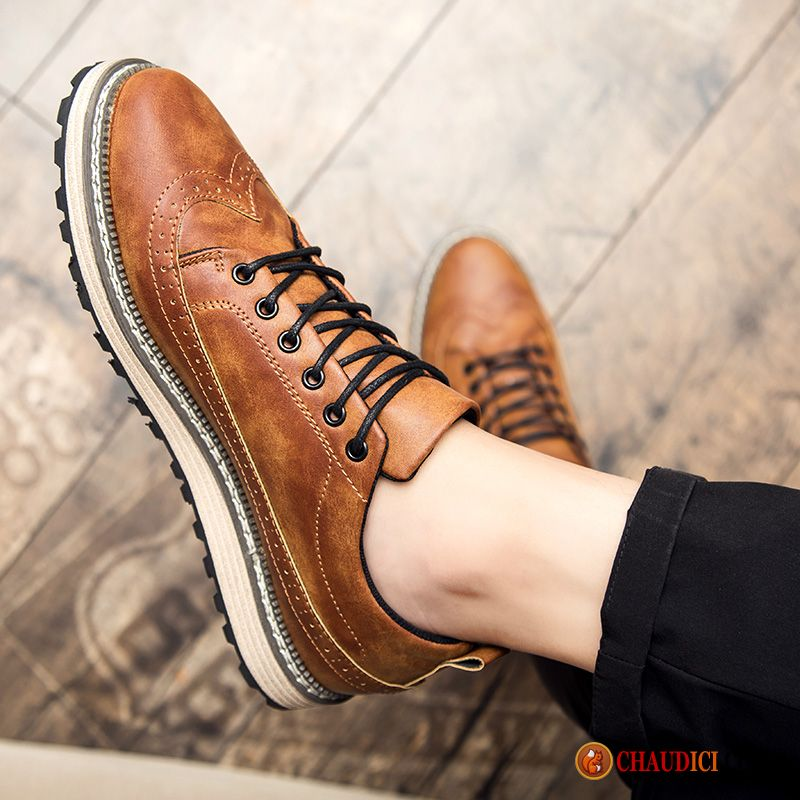 most popular clearance prices new design Chaussure Cuir Marron Homme Bisque Angleterre Tendance ...