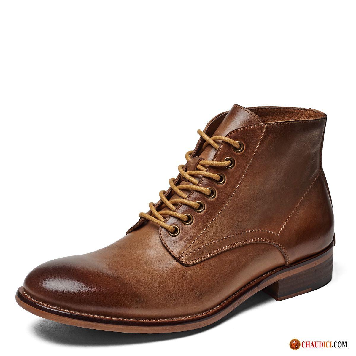 a7dfa6818d9 Chaussures Boots Hommes Soldes Rose Bottes Angleterre Homme Mode Rétro