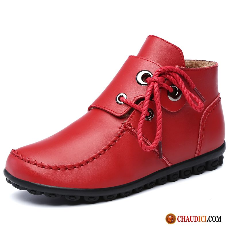 a7f041aa76355f Chaussures Cuir Femme Cuir Véritable Derbies Plates Tendance Flats En Vente