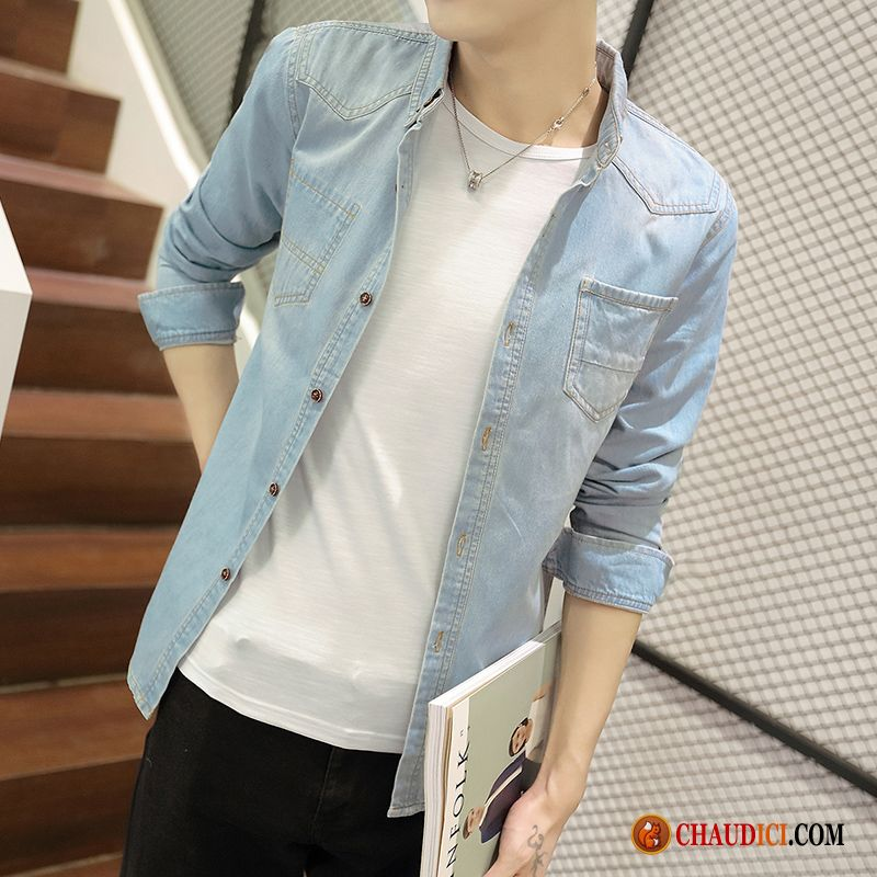 chemise pour homme argent tendance chemise slim les adolescents longues pas cher. Black Bedroom Furniture Sets. Home Design Ideas