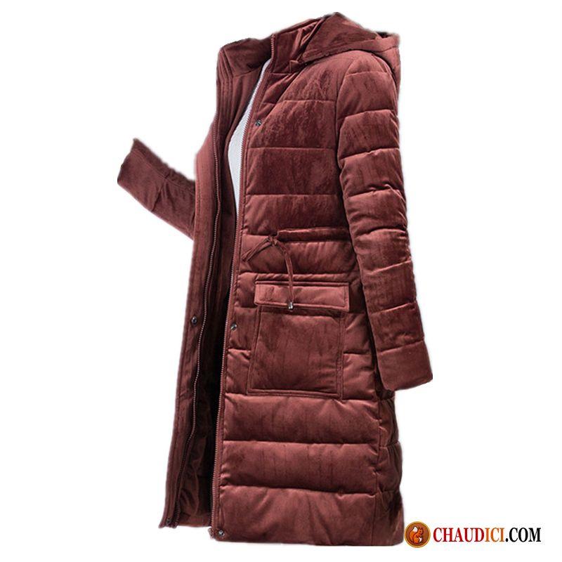 afbbf17a8fe9d Doudoune Femme Duvet Pas Cher Manteau Âge Moyen Manteau En Coton Longue  Vêtements Matelassé Soldes