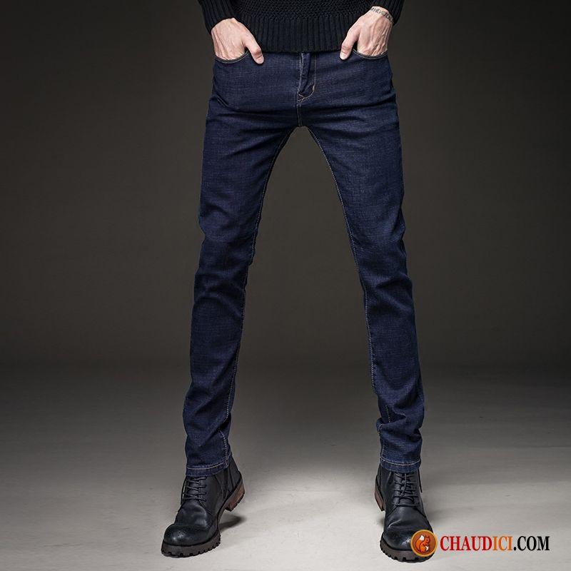 Jean homme slim taille haute