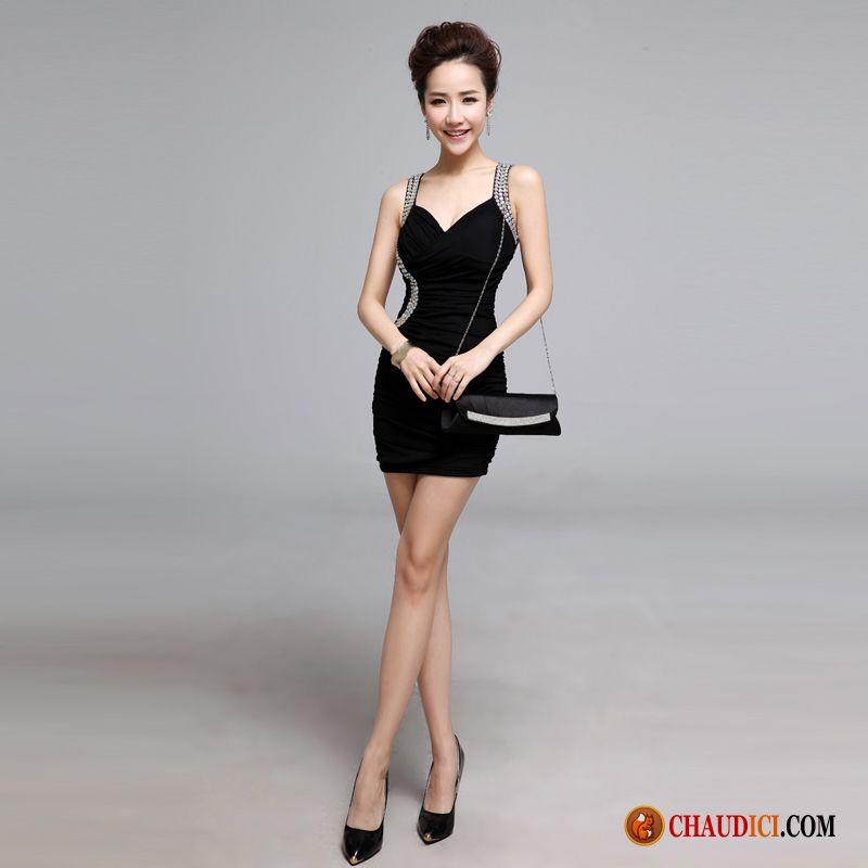d3a37db7280 Jolie Robe D Été Bronzage Sexy Noir Jeune Mariée Robe Vêtements De Soirée