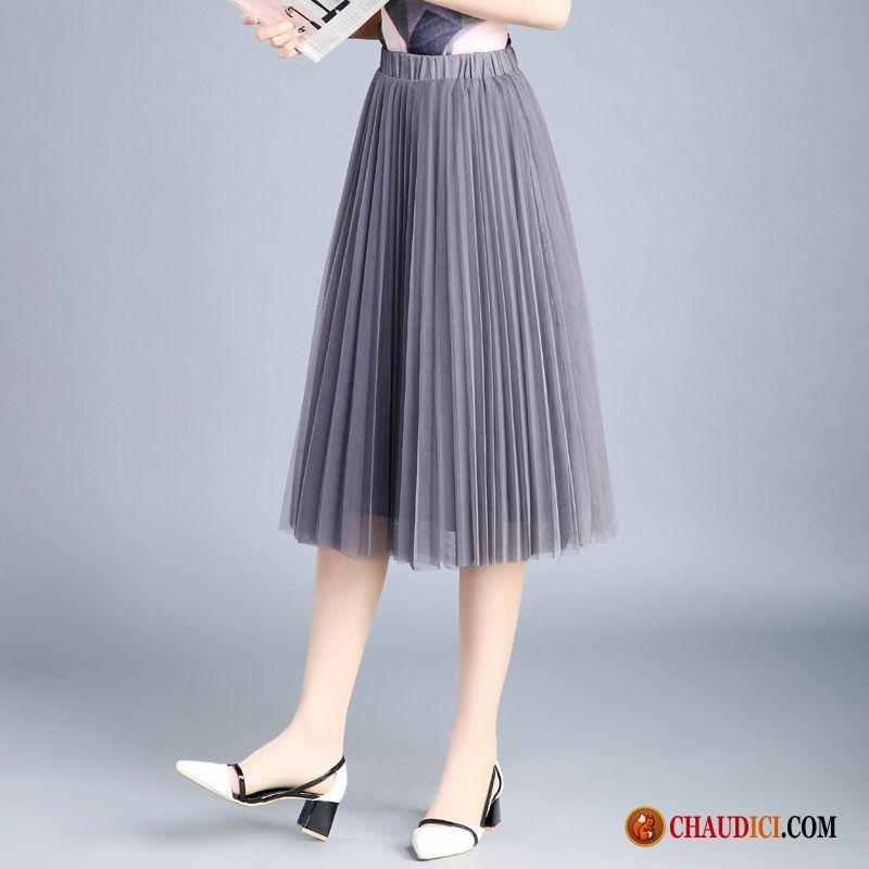 Femme Cher Robe Jupes Pas Camouflage Longue Plissé Jupe WCrdBxoe