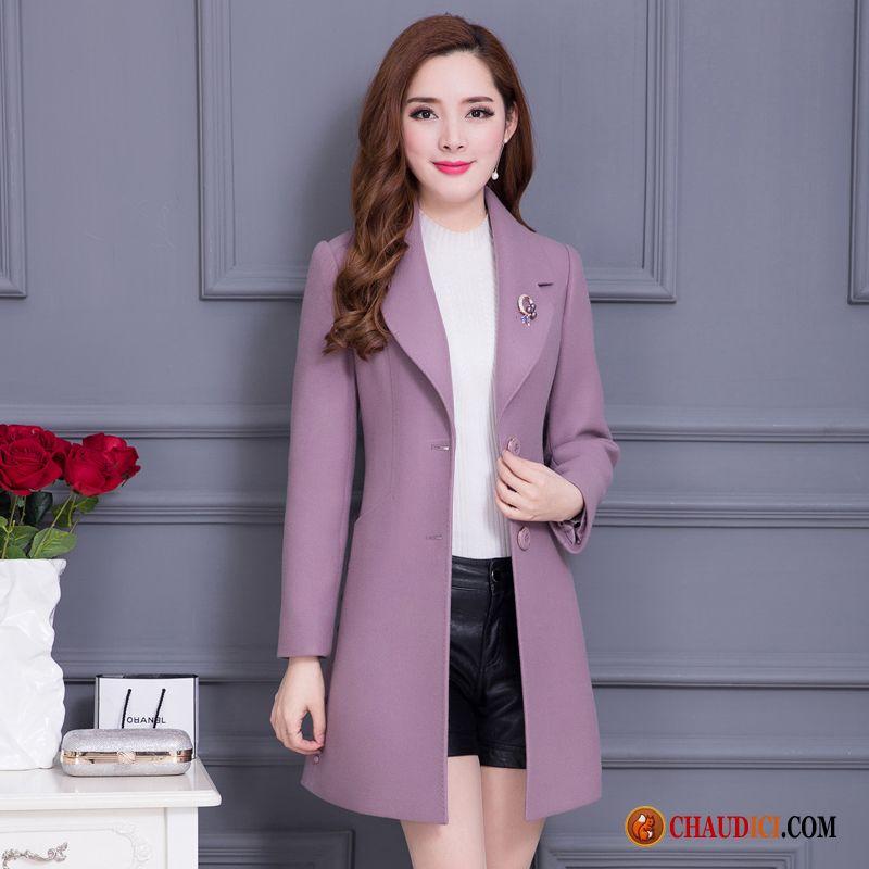 manteau femme couleur pas cher manteaux populaires et. Black Bedroom Furniture Sets. Home Design Ideas