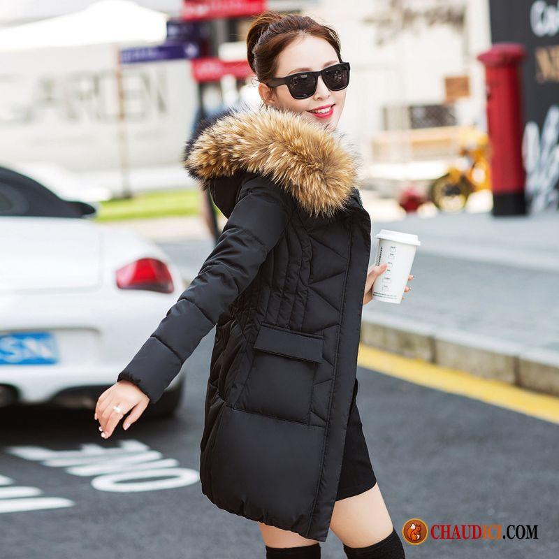 en soldes be9cb bbf8c Manteau Chic Pour Femme Saphir Manteau En Coton Vêtements D ...
