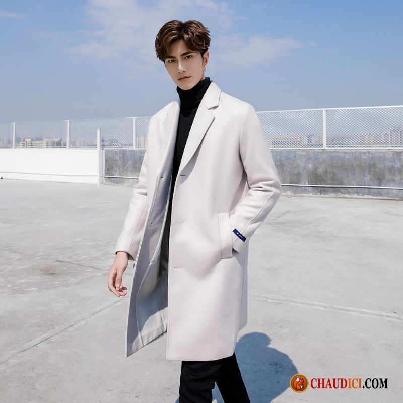 manteau homme laine solld