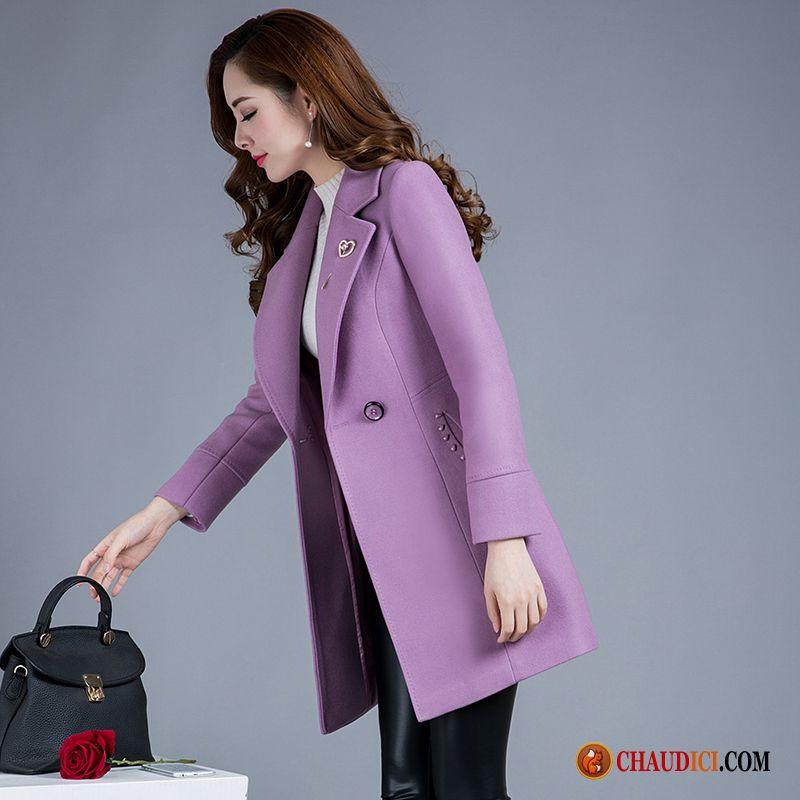 vente manteaux femme fourrure laine hiver en solde page 3. Black Bedroom Furniture Sets. Home Design Ideas