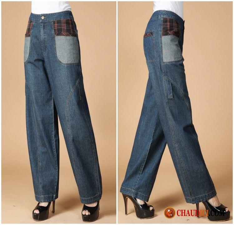jeans femme bootcut grande taille jean extensible bootcut mode femme printemps et en automne coreen. Black Bedroom Furniture Sets. Home Design Ideas