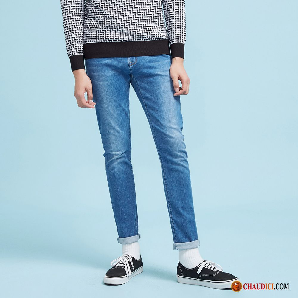 pantalon en jean homme jeans maigre slim les adolescents. Black Bedroom Furniture Sets. Home Design Ideas