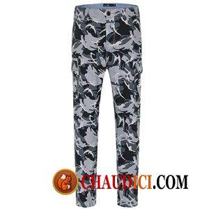 En Soldes Velours Basse Homme Taille Pantalon Pantalons Mode Lettre 08nmvNwO