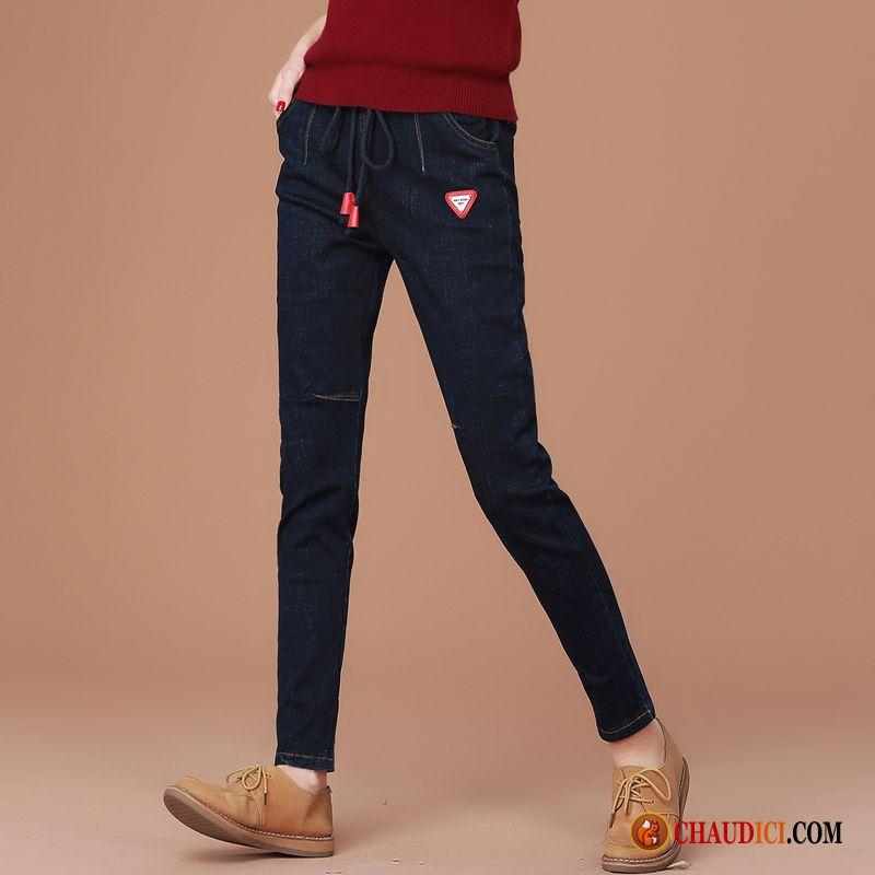 Large Pour Et Habillés Femme Pantalons Slim Mode nFwzqYfx