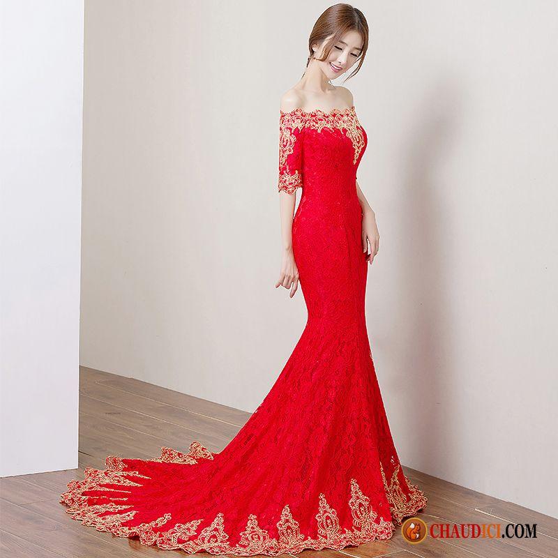 Robes pour femme de soir e et mari e pas cher chaudici for Robes mignonnes pour les mariages d hiver