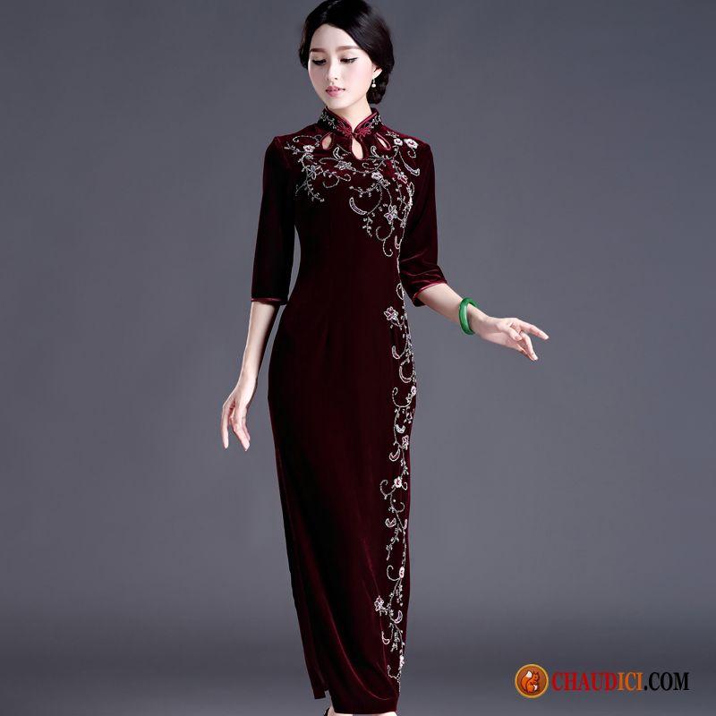 Robe classique femme pas cher