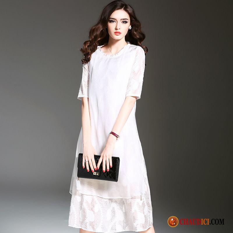 robe de plage en lin 073374812cca