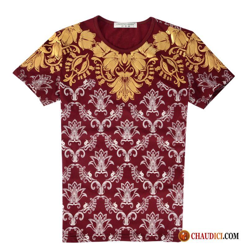 t shirt homme fashion marque