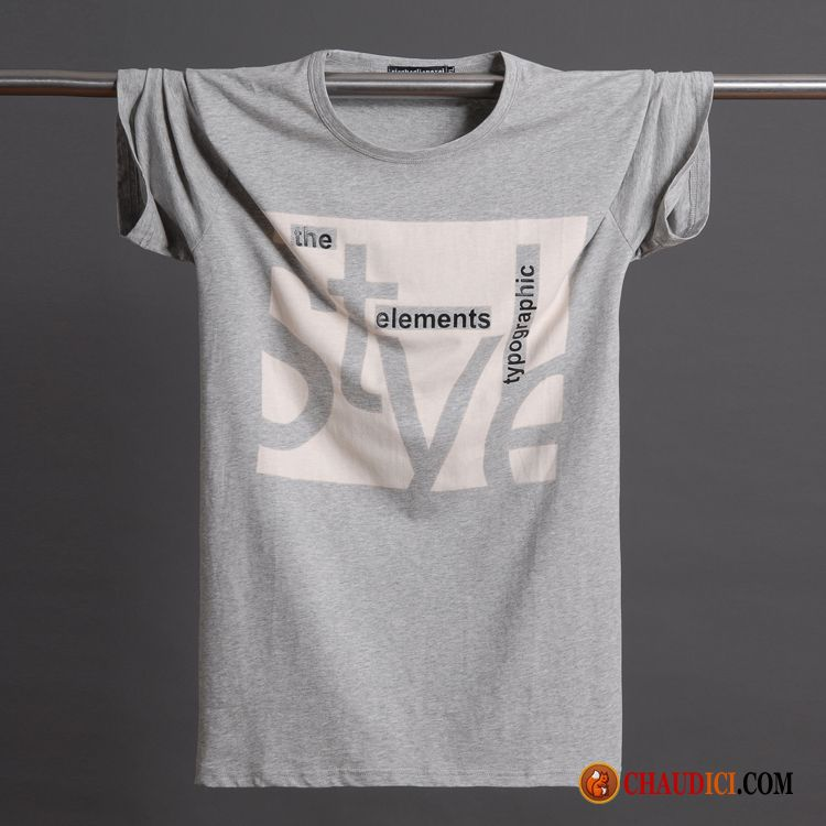 Cuello Verano En Grande en Oferta V Talla T Redondo Camiseta Hombre YeEIWHD29