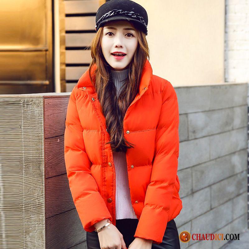 manteau d'hiver court femme de marque