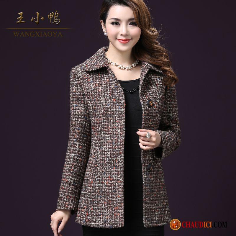 Veste de laine femme grande taille