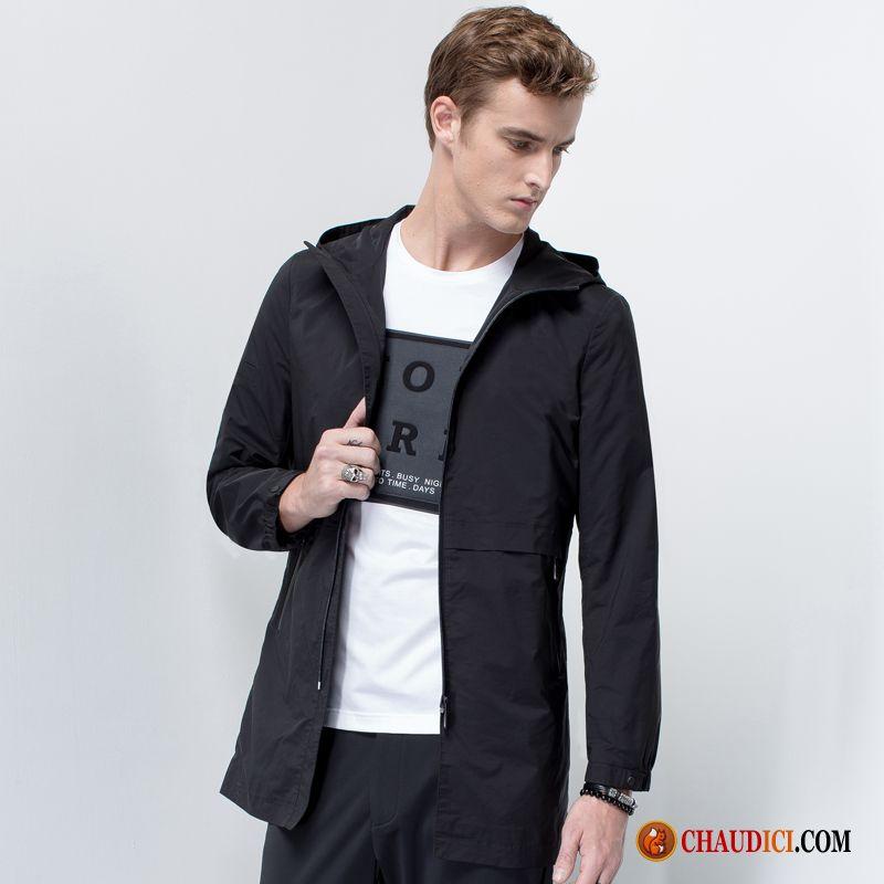 veste rouge homme longue capuche homme manteau veste pas cher. Black Bedroom Furniture Sets. Home Design Ideas